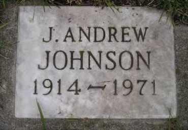 JOHNSON, J. ANDREW - Codington County, South Dakota | J. ANDREW JOHNSON - South Dakota Gravestone Photos