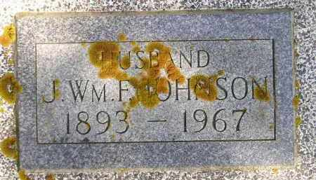 JOHNSON, J. WM. F. - Codington County, South Dakota   J. WM. F. JOHNSON - South Dakota Gravestone Photos