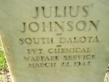 JOHNSON, JULIUS - Codington County, South Dakota   JULIUS JOHNSON - South Dakota Gravestone Photos