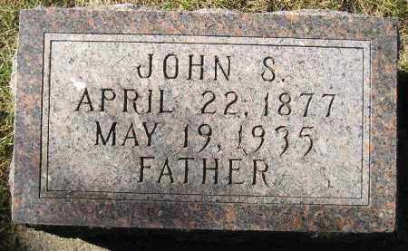 JOHNSON, JOHN S. - Codington County, South Dakota | JOHN S. JOHNSON - South Dakota Gravestone Photos
