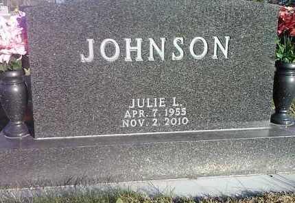 JOHNSON, JULIE L. - Codington County, South Dakota   JULIE L. JOHNSON - South Dakota Gravestone Photos