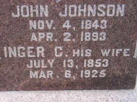 JOHNSON, JOHN - Codington County, South Dakota   JOHN JOHNSON - South Dakota Gravestone Photos