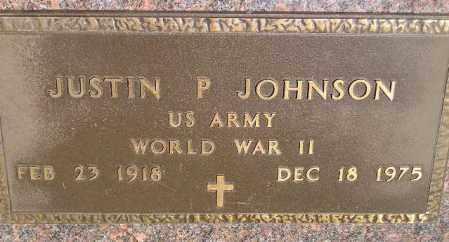 JOHNSON, JUSTIN P. - Codington County, South Dakota   JUSTIN P. JOHNSON - South Dakota Gravestone Photos