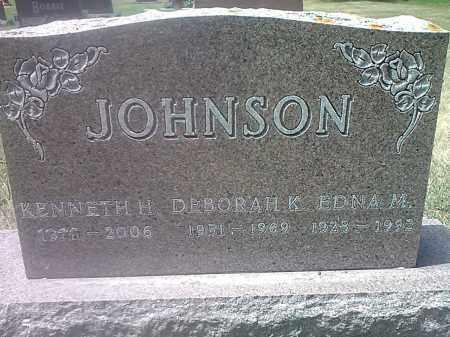 JOHNSON, KENNETH H - Codington County, South Dakota | KENNETH H JOHNSON - South Dakota Gravestone Photos