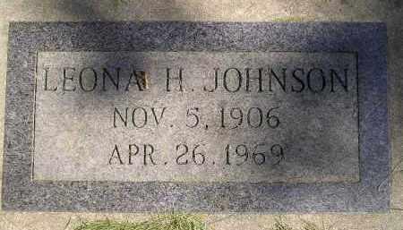JOHNSON, LEONA H. - Codington County, South Dakota | LEONA H. JOHNSON - South Dakota Gravestone Photos