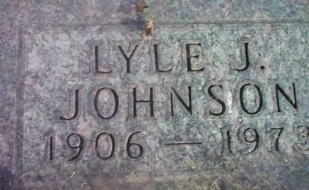JOHNSON, LYLE J. - Codington County, South Dakota | LYLE J. JOHNSON - South Dakota Gravestone Photos