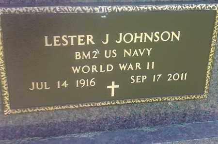 JOHNSON, LESTER J (MILITARY) - Codington County, South Dakota | LESTER J (MILITARY) JOHNSON - South Dakota Gravestone Photos