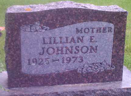 JOHNSON, LILLIAN E - Codington County, South Dakota | LILLIAN E JOHNSON - South Dakota Gravestone Photos