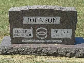 JOHNSON, LESTER J - Codington County, South Dakota | LESTER J JOHNSON - South Dakota Gravestone Photos