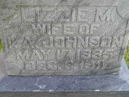 JOHNSON, LIZZIE M. - Codington County, South Dakota | LIZZIE M. JOHNSON - South Dakota Gravestone Photos