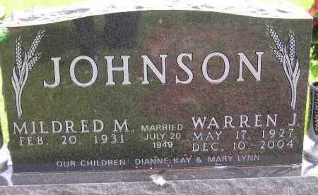 JOHNSON, WARREN J. - Codington County, South Dakota | WARREN J. JOHNSON - South Dakota Gravestone Photos