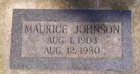 JOHNSON, MAURICE - Codington County, South Dakota | MAURICE JOHNSON - South Dakota Gravestone Photos