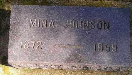 JOHNSON, MINA - Codington County, South Dakota   MINA JOHNSON - South Dakota Gravestone Photos