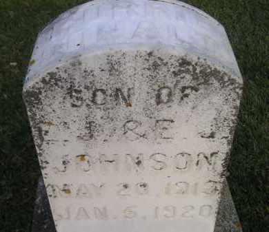 JOHNSON, MURRIE DONALD - Codington County, South Dakota | MURRIE DONALD JOHNSON - South Dakota Gravestone Photos