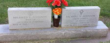 JOHNSON, RICHARD  H - Codington County, South Dakota | RICHARD  H JOHNSON - South Dakota Gravestone Photos