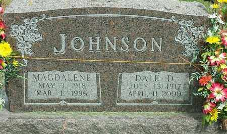 JOHNSON, DALE D - Codington County, South Dakota | DALE D JOHNSON - South Dakota Gravestone Photos