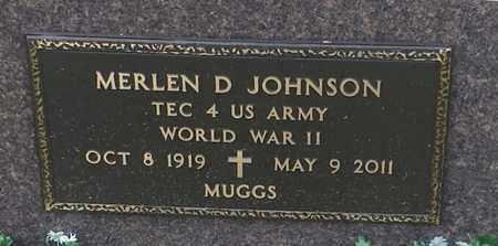 "JOHNSON, MERLEN D (MUGGS)""MILITARY"" - Codington County, South Dakota | MERLEN D (MUGGS)""MILITARY"" JOHNSON - South Dakota Gravestone Photos"