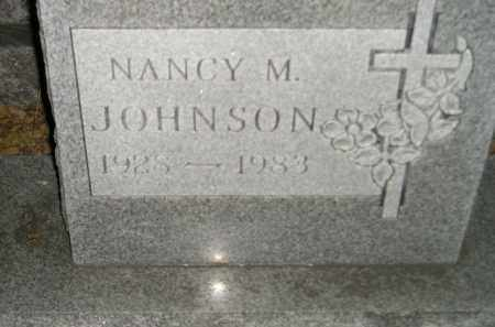 JOHNSON, NANCY M. - Codington County, South Dakota | NANCY M. JOHNSON - South Dakota Gravestone Photos