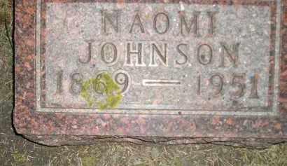 JOHNSON, NAOMI - Codington County, South Dakota | NAOMI JOHNSON - South Dakota Gravestone Photos
