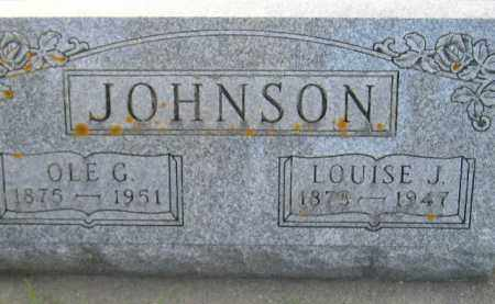 JOHNSON, LOUISE J. - Codington County, South Dakota | LOUISE J. JOHNSON - South Dakota Gravestone Photos