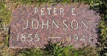 JOHNSON, PETER E. - Codington County, South Dakota | PETER E. JOHNSON - South Dakota Gravestone Photos
