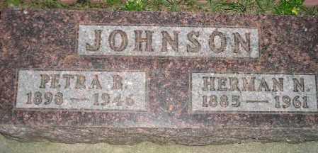 JOHNSON, HERMAN N. - Codington County, South Dakota | HERMAN N. JOHNSON - South Dakota Gravestone Photos
