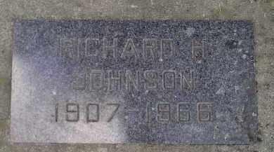 JOHNSON, RICHARD H. - Codington County, South Dakota   RICHARD H. JOHNSON - South Dakota Gravestone Photos