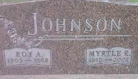 JOHNSON, MYRTLE - Codington County, South Dakota | MYRTLE JOHNSON - South Dakota Gravestone Photos