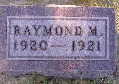 JOHNSON, RAYMOND M. - Codington County, South Dakota   RAYMOND M. JOHNSON - South Dakota Gravestone Photos