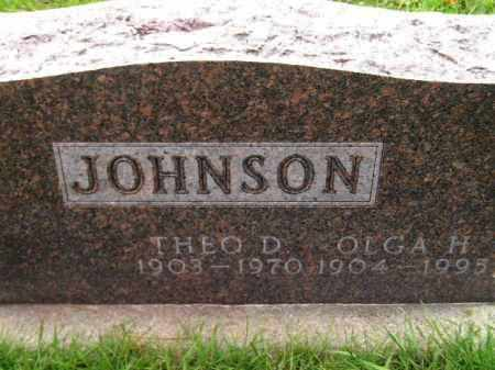 JOHNSON, OLGA H. - Codington County, South Dakota | OLGA H. JOHNSON - South Dakota Gravestone Photos