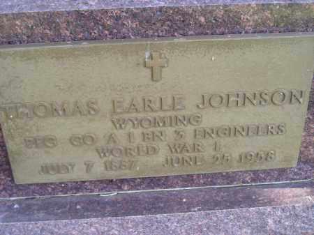 JOHNSON, THOMAS EARLE (WW I) - Codington County, South Dakota | THOMAS EARLE (WW I) JOHNSON - South Dakota Gravestone Photos