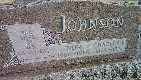 JOHNSON, CHARLES E. - Codington County, South Dakota | CHARLES E. JOHNSON - South Dakota Gravestone Photos