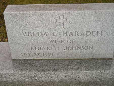 JOHNSON, VELDA L. - Codington County, South Dakota | VELDA L. JOHNSON - South Dakota Gravestone Photos