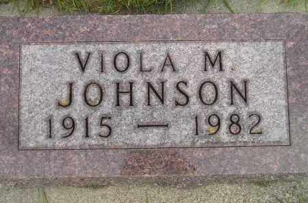 JOHNSON, VIOLA M. - Codington County, South Dakota | VIOLA M. JOHNSON - South Dakota Gravestone Photos