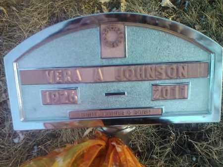 JOHNSON, VERA A. - Codington County, South Dakota   VERA A. JOHNSON - South Dakota Gravestone Photos
