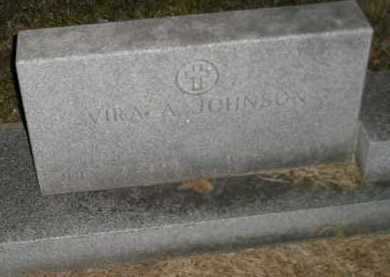 JOHNSON, VIRA A - Codington County, South Dakota | VIRA A JOHNSON - South Dakota Gravestone Photos