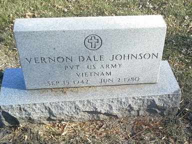 "JOHNSON, VERNON DALE ""MILITARY"" - Codington County, South Dakota | VERNON DALE ""MILITARY"" JOHNSON - South Dakota Gravestone Photos"