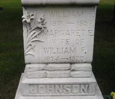 JOHNSON, WILLIAM F. - Codington County, South Dakota   WILLIAM F. JOHNSON - South Dakota Gravestone Photos