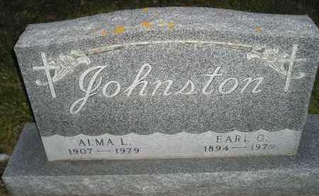JOHNSTON, ALMA L. - Codington County, South Dakota | ALMA L. JOHNSTON - South Dakota Gravestone Photos