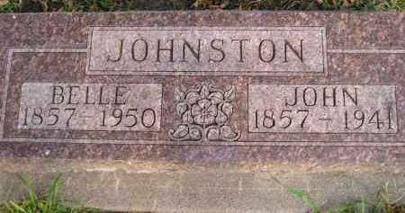 JOHNSTON, BELLE - Codington County, South Dakota | BELLE JOHNSTON - South Dakota Gravestone Photos