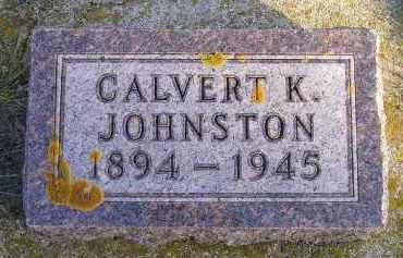 JOHNSTON, CALVERT K. - Codington County, South Dakota | CALVERT K. JOHNSTON - South Dakota Gravestone Photos
