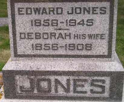 JONES, EDWARD - Codington County, South Dakota | EDWARD JONES - South Dakota Gravestone Photos