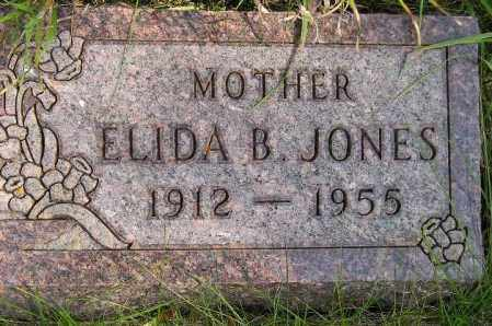 RAASTAD JONES, ELIDA BORGHILD - Codington County, South Dakota   ELIDA BORGHILD RAASTAD JONES - South Dakota Gravestone Photos