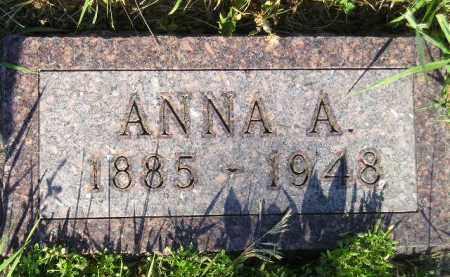 KANNAS, ANNA A. - Codington County, South Dakota | ANNA A. KANNAS - South Dakota Gravestone Photos