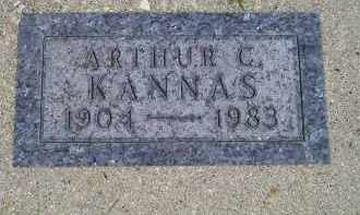KANNAS, ARTHUR C. - Codington County, South Dakota | ARTHUR C. KANNAS - South Dakota Gravestone Photos