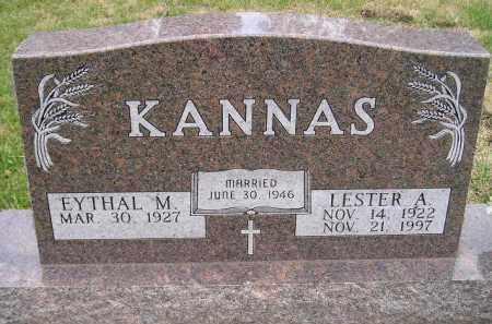 KANNAS, EYTHAL M. - Codington County, South Dakota | EYTHAL M. KANNAS - South Dakota Gravestone Photos