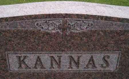 KANNAS, FAMILY STONE - Codington County, South Dakota | FAMILY STONE KANNAS - South Dakota Gravestone Photos