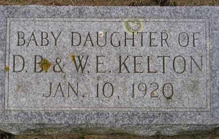 KELTON, BABY DAUGHTER - Codington County, South Dakota | BABY DAUGHTER KELTON - South Dakota Gravestone Photos
