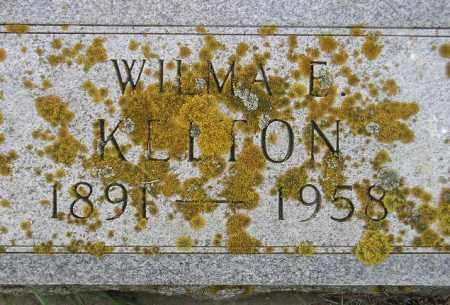 KELTON, WILMA E. - Codington County, South Dakota | WILMA E. KELTON - South Dakota Gravestone Photos