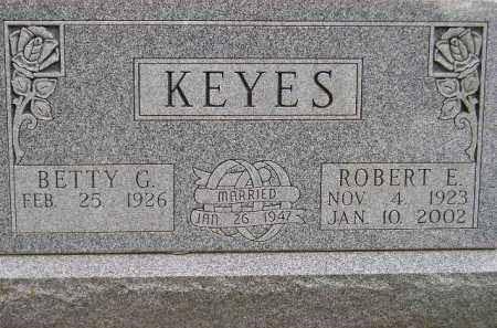 SHIRK KEYES, BETTY G. - Codington County, South Dakota | BETTY G. SHIRK KEYES - South Dakota Gravestone Photos
